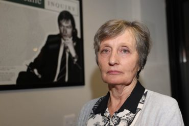 Pat Finncaine's widow explains the British decision not to hold a public inquiry into her murder