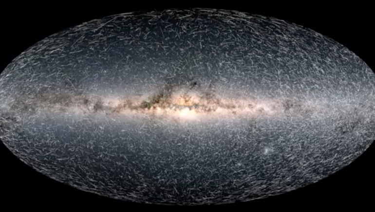 See what the Milky Way looks like 1.6 million years from now in Issa's video