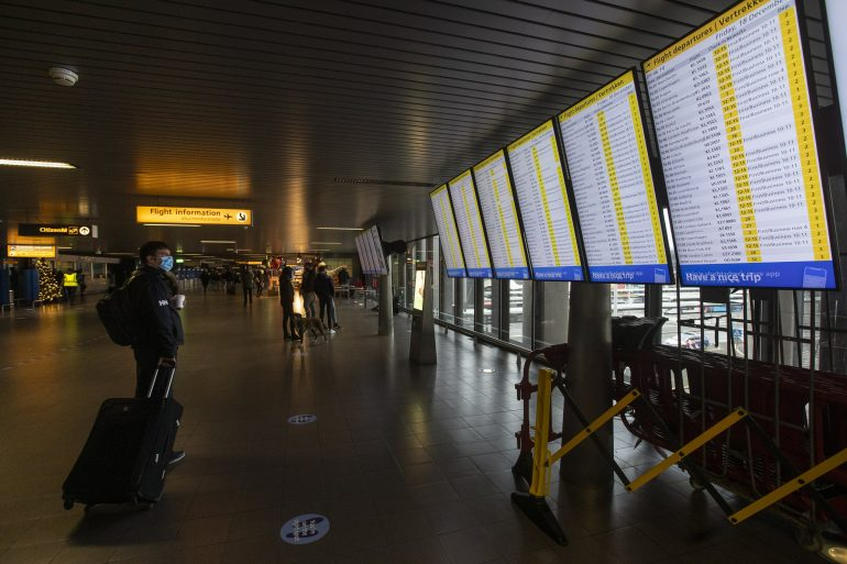 The Dutch have banned flights to the UK for fear of a new corona virus variant
