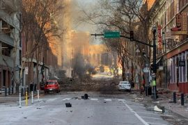United States: Violent blast in Nashville, police deliberate