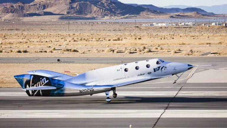 Virgin Galactic passenger spacecraft stops test flight