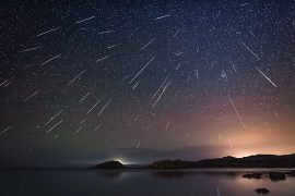 Geminid meteor shower in 2019