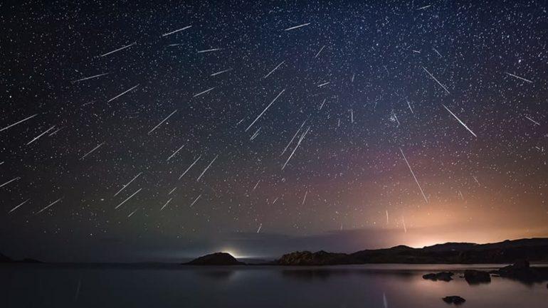 Geminid meteor shower in 2019
