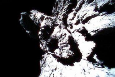 Penampakan asteroid Ryugu. (twitter/haya2e_jaxa)