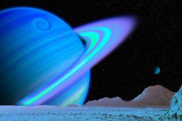 Planeta Uranus apropiere