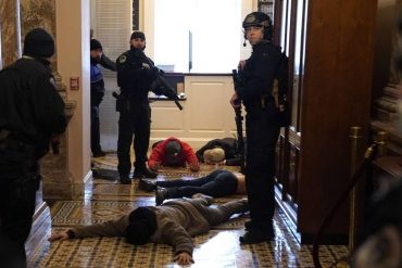 Donald Trump supporters arrested for assaulting Congress lawmakers arrested by law police Photo: Drew Anger / AFP