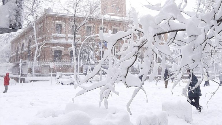 Madrid is collapsing and experiencing an emergency with the avalanche of this century