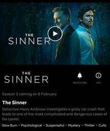 Sinner Season 3 Netflix Release