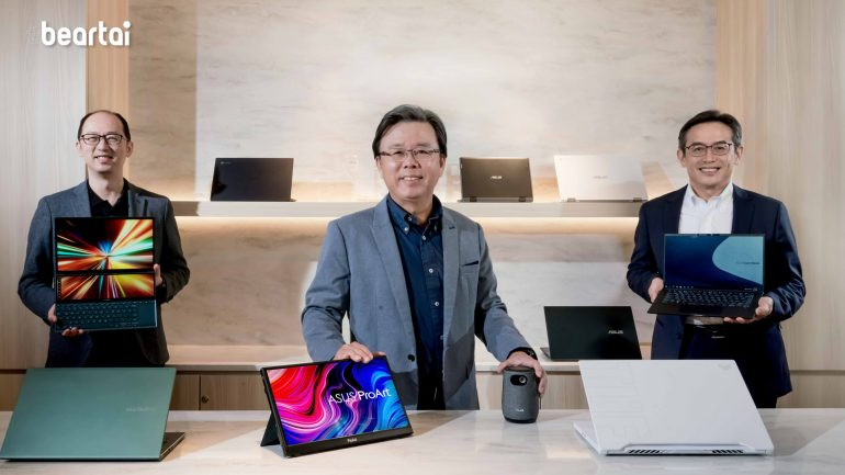Asus unveils newest laptops at CES 2021 'Go Ahead' event led by Zenbook, VivoBook and ExpertBook.