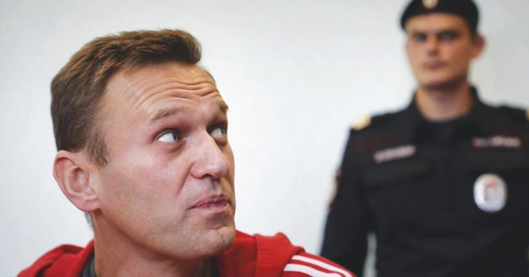 "In Moscow, Navalny jail until February 15.  ""Putin, the ogre of the pipeline, is afraid of the people in the square.""  Demonstrations on January 23rd"