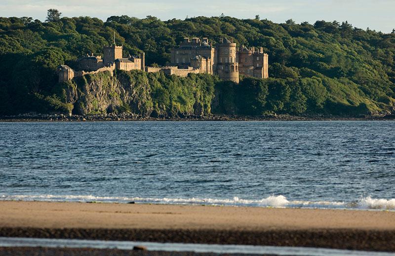 Calcion Castle - DR Visits Scotland - Paul Tomkins