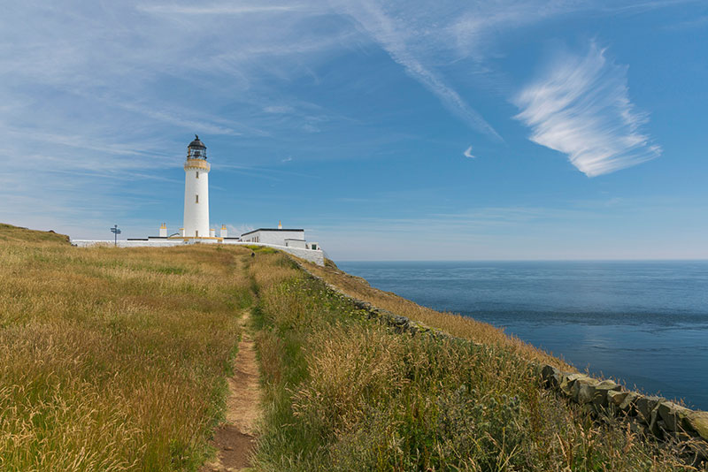 Mall of Galloway Lighthouse - DR Visits Scotland - Kenny Lam