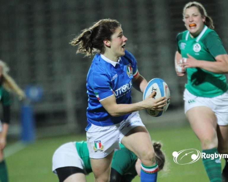 El Italdon joins Manuela Farlan and Veronica Madia to beat Ireland in Italian Women's Rugby Championship - RugbyMeet