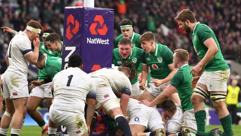 A classic among England Ireland rugby classics