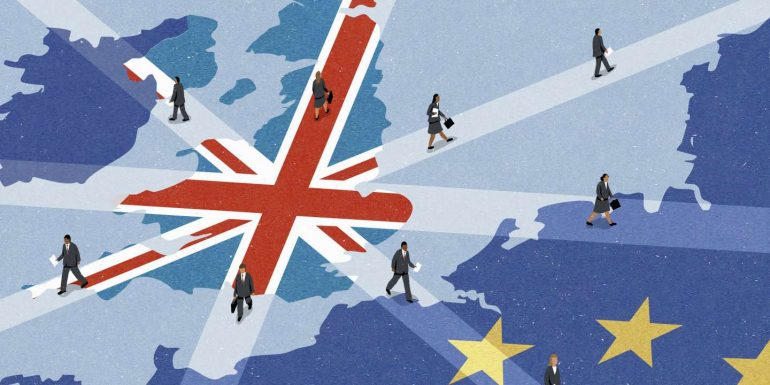 """""""After Brexit, the condition of the British citizen in Europe is the same as that of Chinese tourists."""""""