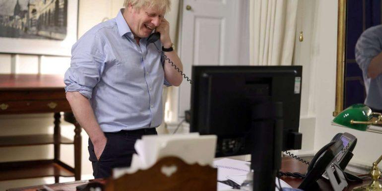 Boris Johnson and Joe Biden want to strengthen alliance between London and Washington
