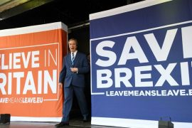 Brexit-friendly Leave.eu lobby to leave UK ... to EU