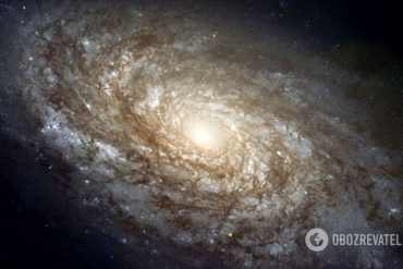 Calculates the distance to the oldest and most distant galaxy in the universe  Science