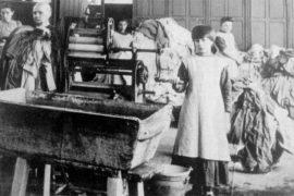 Uma das Lavanderias da Madalena, dirigidas por freiras católicas, onde mães solteiras e crianças foram maltratadas durante várias décadas