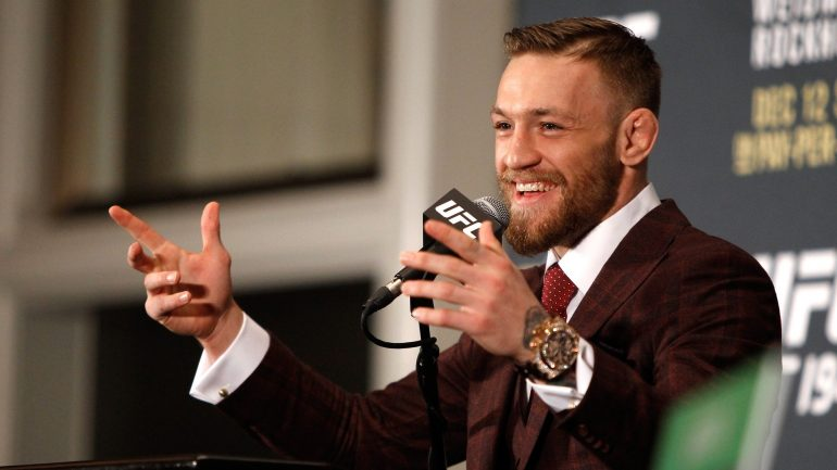 Conor McGregor has unveiled a million-dollar watch that will amaze his mind