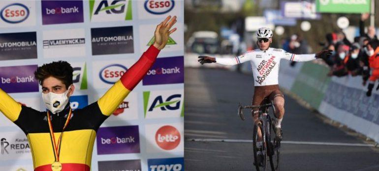 Cyclo-cross - Venturini, Van Aert... Tous les champions nationaux