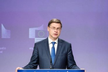 EU: Ireland loses trade, Dombrovsky new commissioner