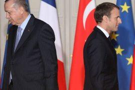 Emmanuel Macron and Tayyip Erdogan write to ease tensions