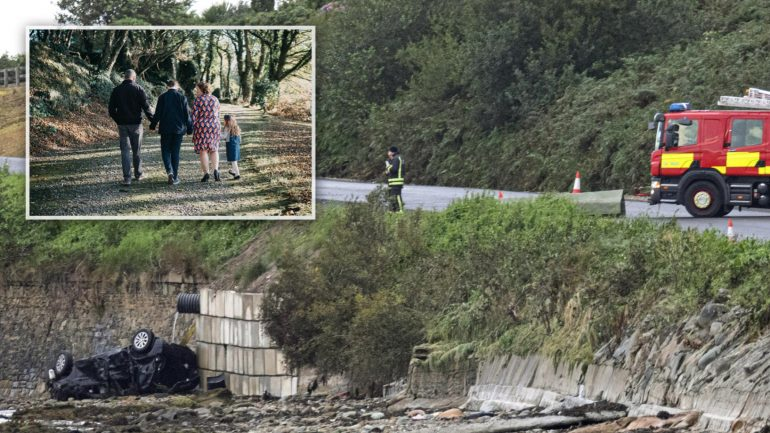 Family tragedy in Ireland: Father and two children die in tragic accident