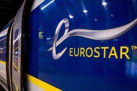 First customs inspection for passengers on trains from London