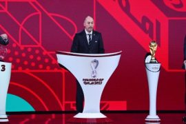Football and Qatar World Cup 2022 in Group with Italy, Switzerland, Northern Ireland, Bulgaria and Lithuania
