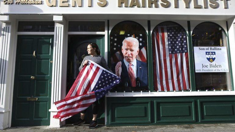 Ireland celebrates for Joe Biden