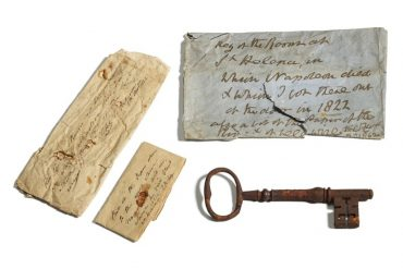 Key to Napoleon's dead prison goes to auction in UK |  The world