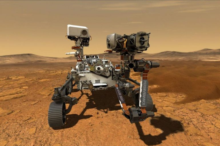 Mankind will hear the sound of Mars for the first time.  How bird music sounds there - 24T24 - NASA already offers tastes like Czech television