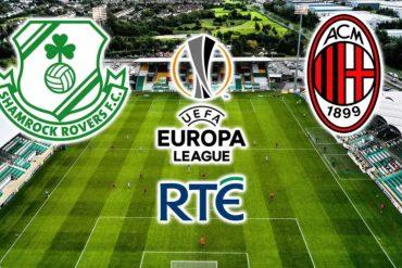 Shamrock Rovers-Milan Europa League