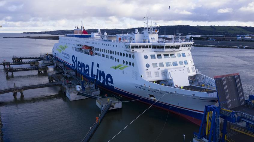 Stena places all its e-flexors on the Belfast-Liverpool line