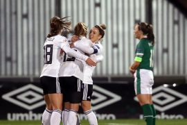 The DFB women beat Ireland at the end of their European Championship qualification