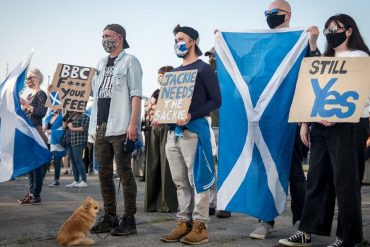 The majority of voters want a referendum on independence