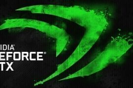 The new GeForce driver is busy helping a media