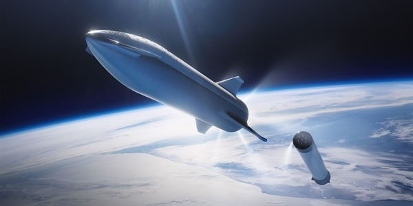 The prototype of the Starship SN9 spacecraft will not fly today.  The reason is a strong wind - VTM.cz