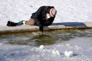 El tiempo que permanecerá el hielo en Madrid
