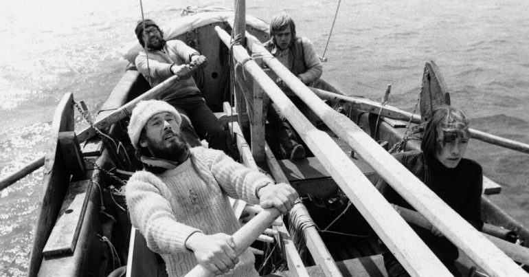 Tim Severin, the sailor who reconstructed the voyages of explorers, has died at the age of 80
