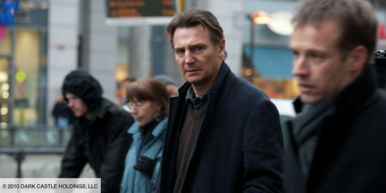 Why did his past as an amateur boxer help Liam Neeson for this role?