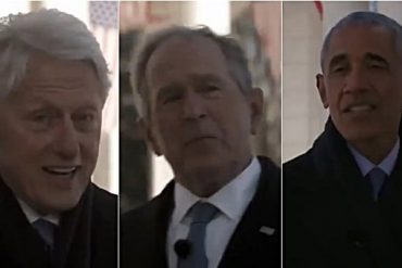 "Yusuf, Clinton, Bush and Obama together in a video: ""Biden comforts you"""