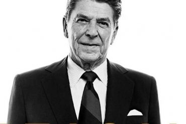 President Reagan replaces the US in Sanciano's biography