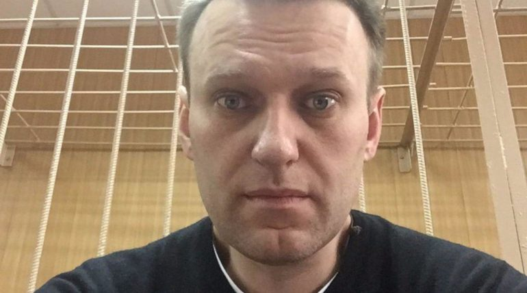 Russian court in Moscow sentences Navalny to two years and five months in prison  More than a thousand people were arrested during the protest
