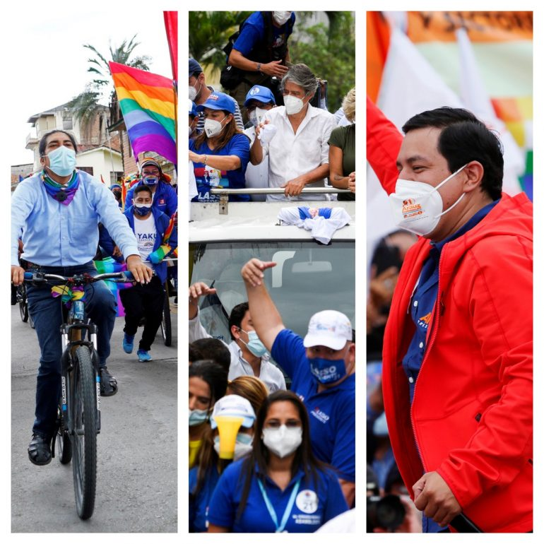 The outcome of the first round of elections in Ecuador has not been defined.  Indian candidate 'cheating attempt' |  The world