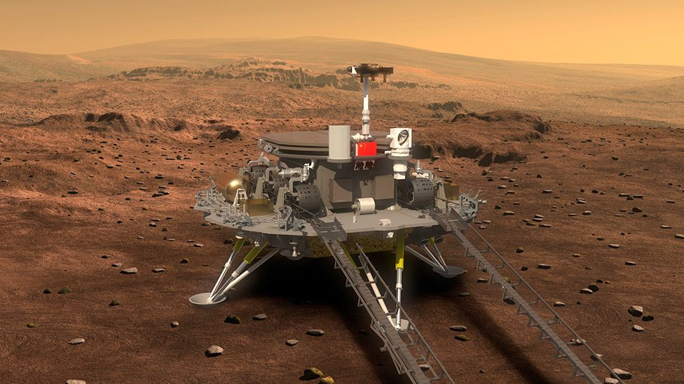Tianwen Mars Rover