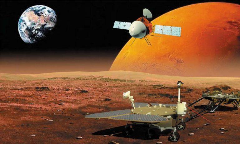 Tianwen-1 enters orbit around Mars - space