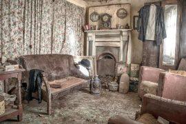Foto de Rebecca Brownlie da casa abandonada
