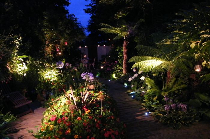 Types and effects of garden lights, Gothic Art Notes (2)
